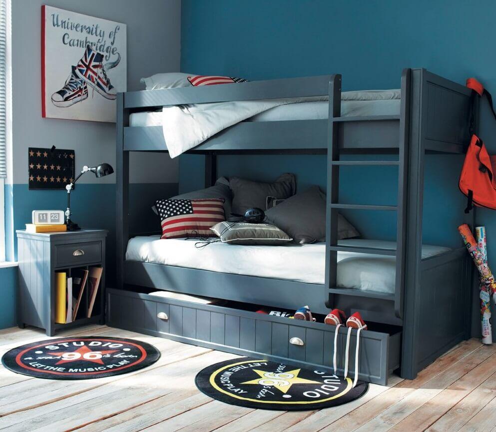 Фото двухъярусной кровати для мальчиков