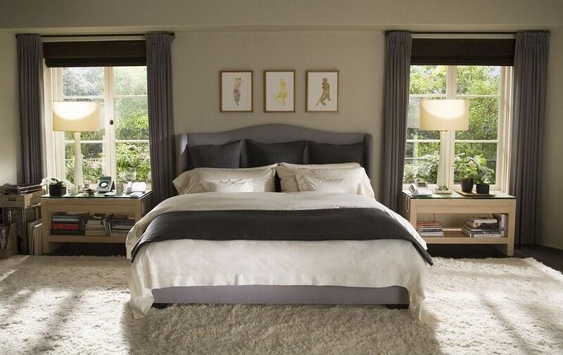 Фото кровати в интерьере спальни