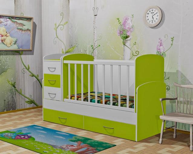 Детская кровать-трансформер для новорожденных