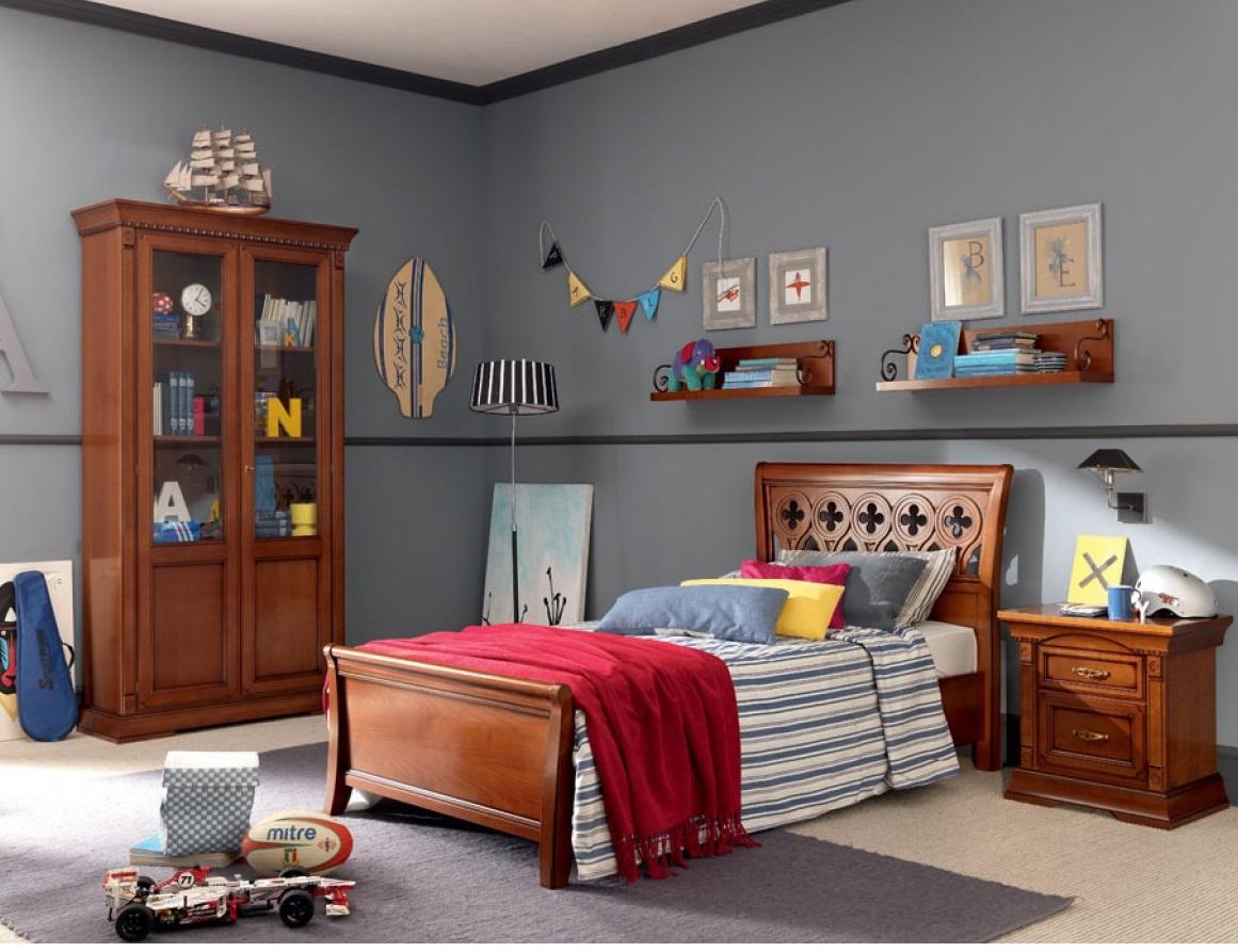 Фото кровати в интерьере детской комнаты