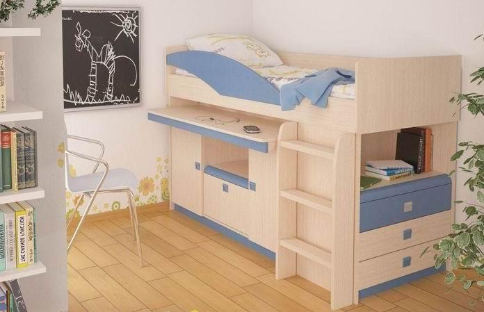 Фото детской кровати-чердака