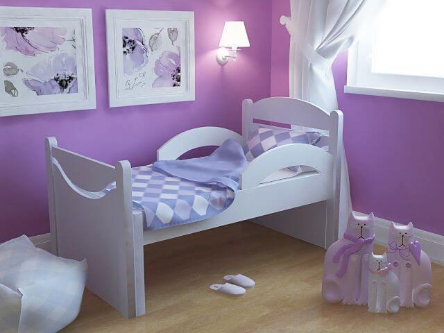 Фото растущей кровати в интерьере детской комнаты