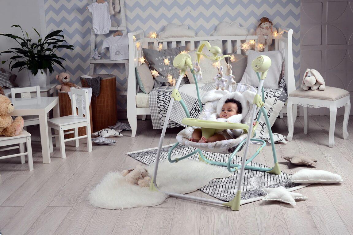 Фото детского укачивающего кресла