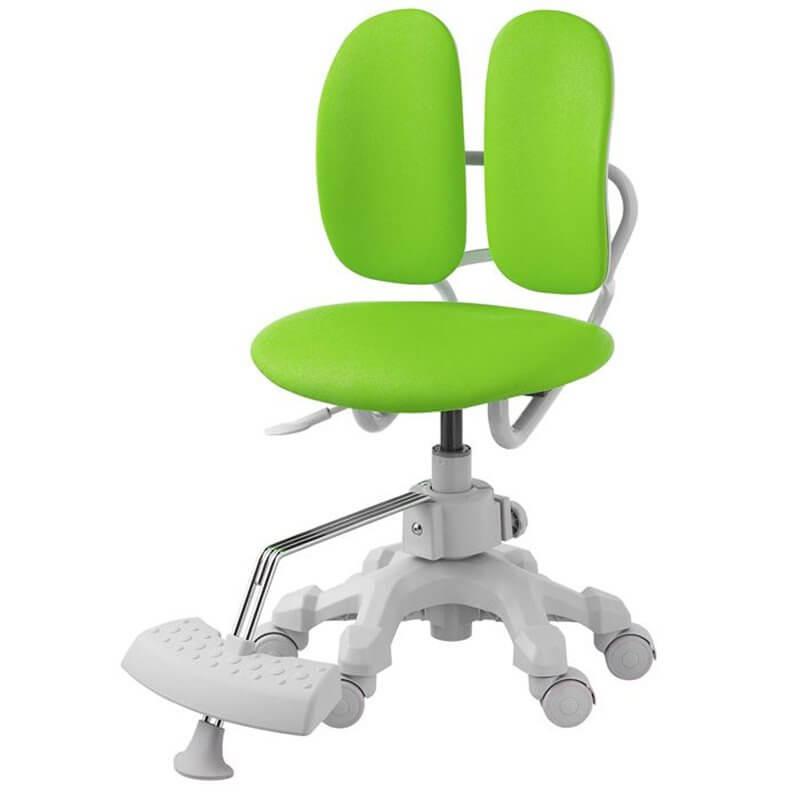 Детское ортопедическое кресло с двойной спинкой