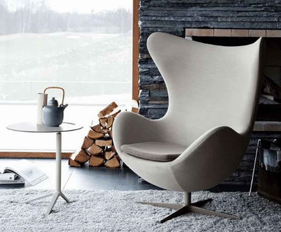 Дизайнерское кресло яйцо
