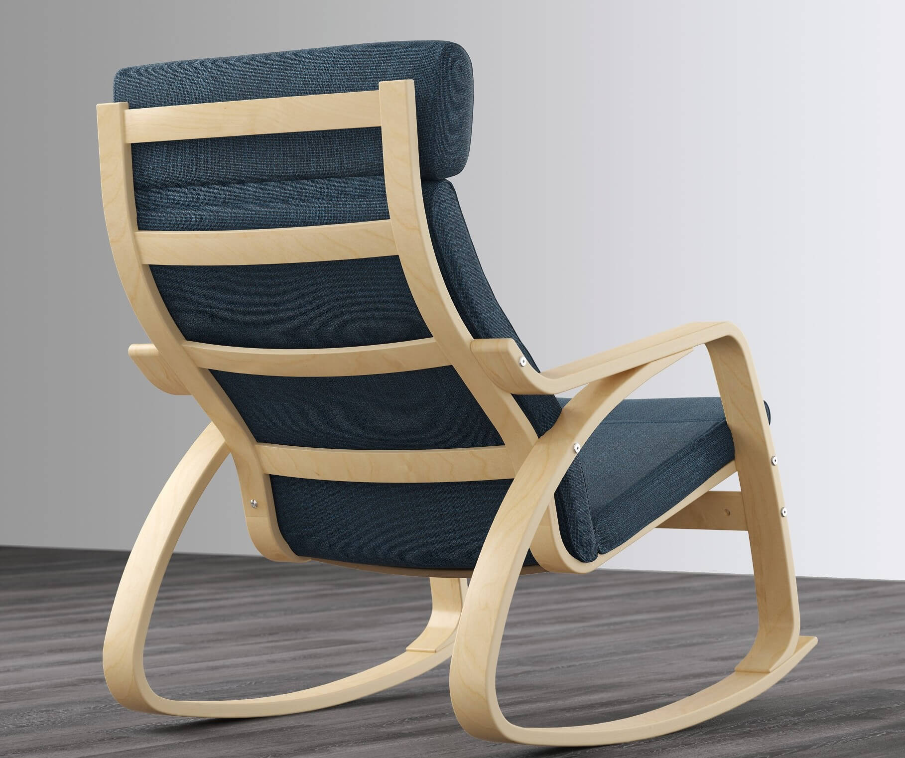 кресло качалка Поэнг