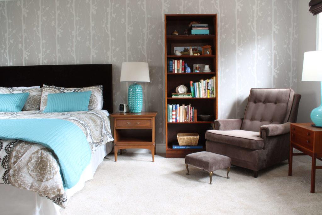 Фото кресла в спальне