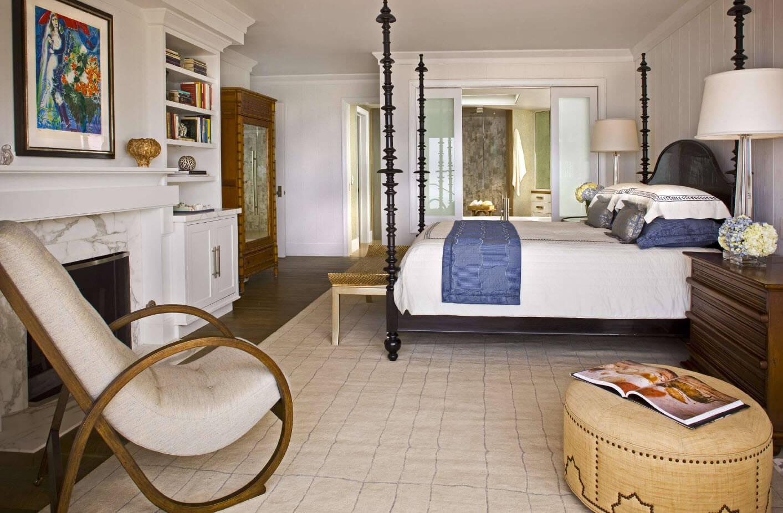 Фото кресла качалки в спальне