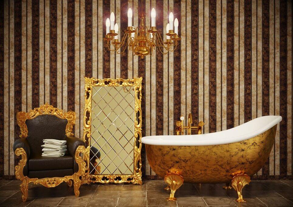 Фото кресла в ванной