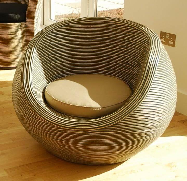 Фото круглого кресла