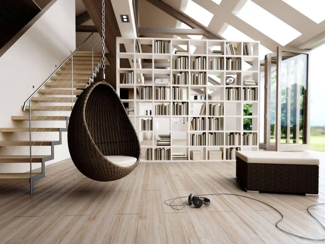 подвесное кресло к потолку