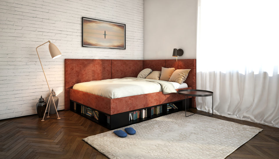 Фото угловой кровати