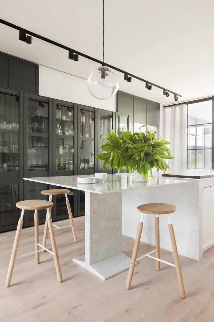фото барных табуретов на кухне