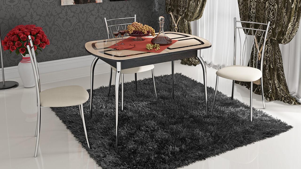 Фото стульев с хромированным каркасом