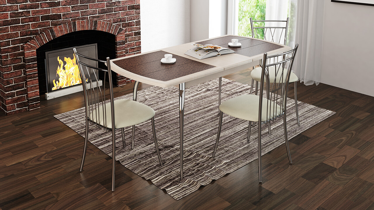 фото хромированных стульев