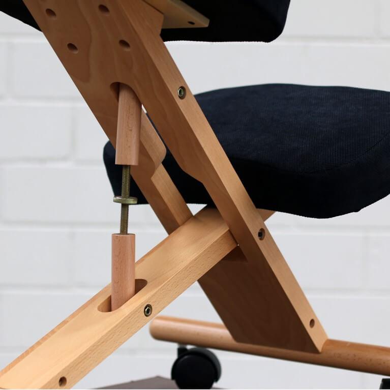 регулируемый ортопедический коленный стул
