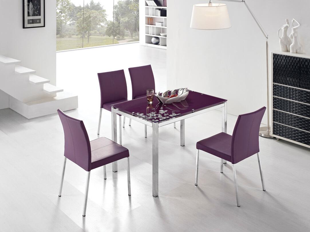 обеденные кожаные стулья