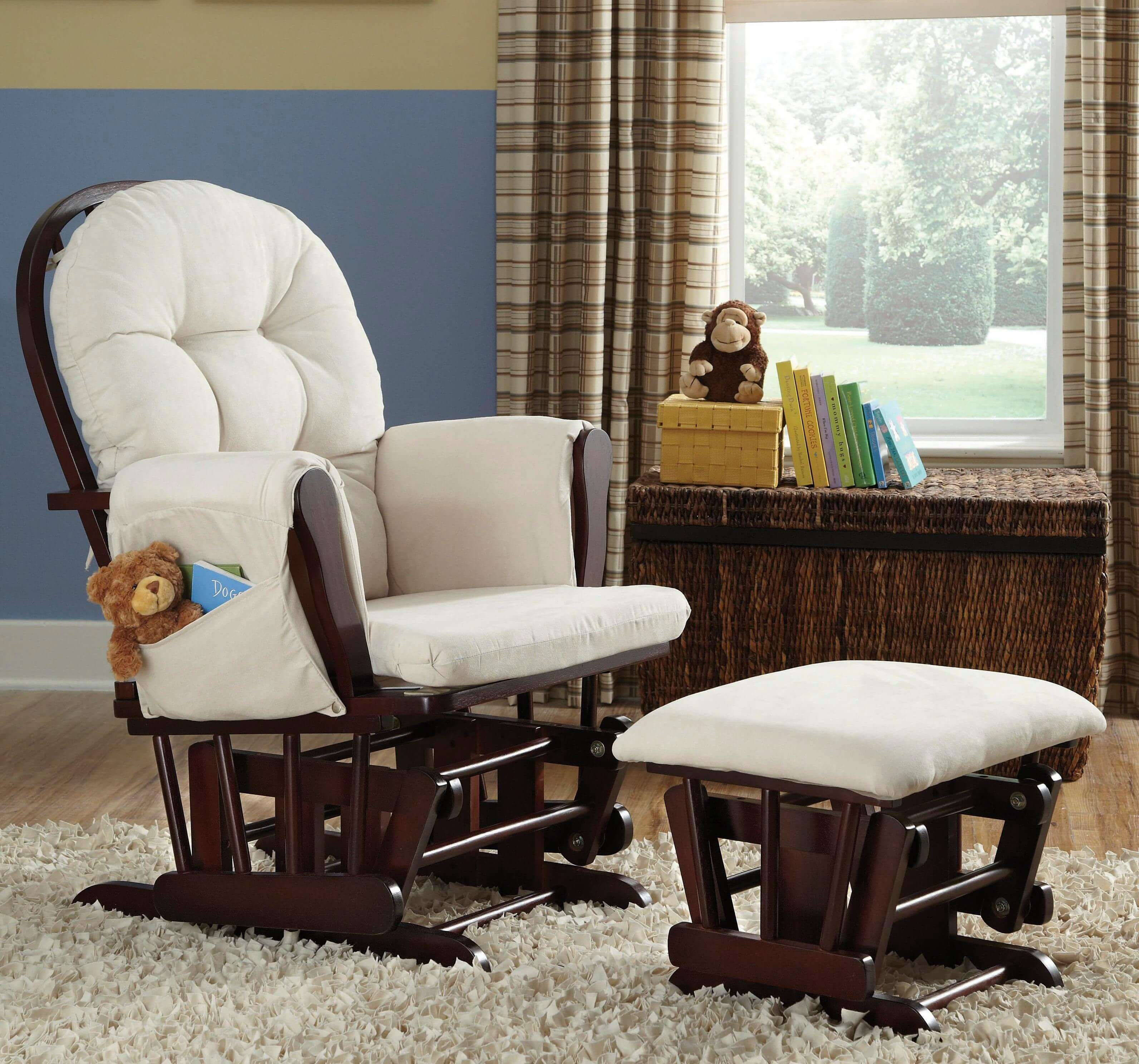 кресло глайдер