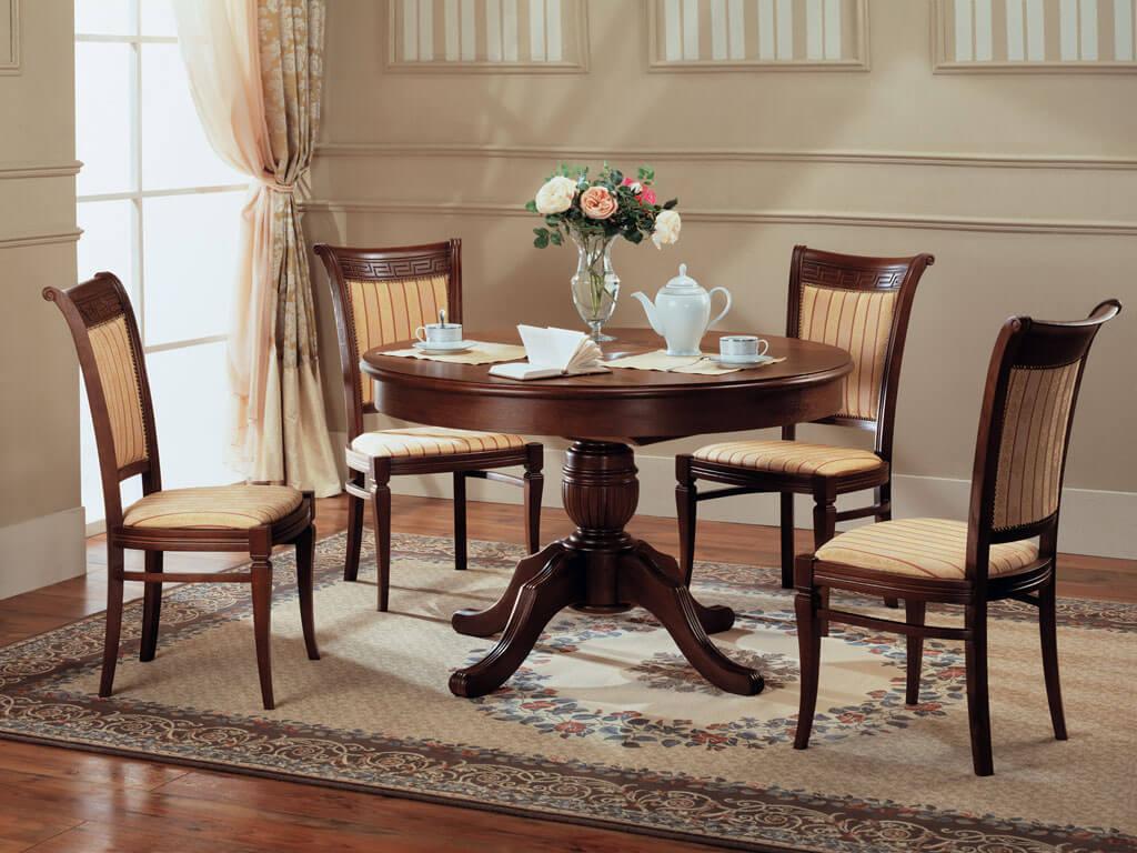 деревянные кухонные стулья со спинкой