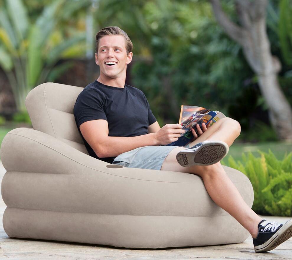Фото надувного кресла