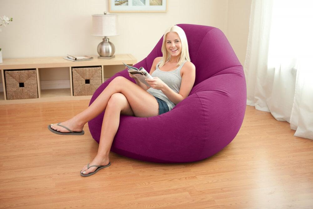 Надувное кресло мешок