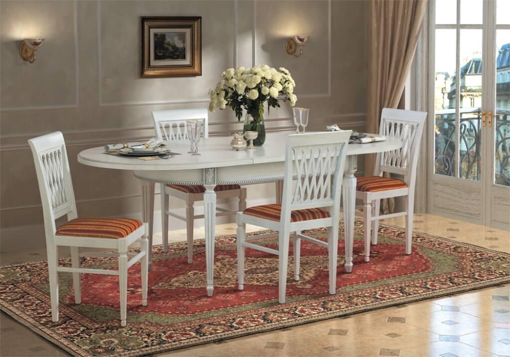 обеденная группа - стулья и стол