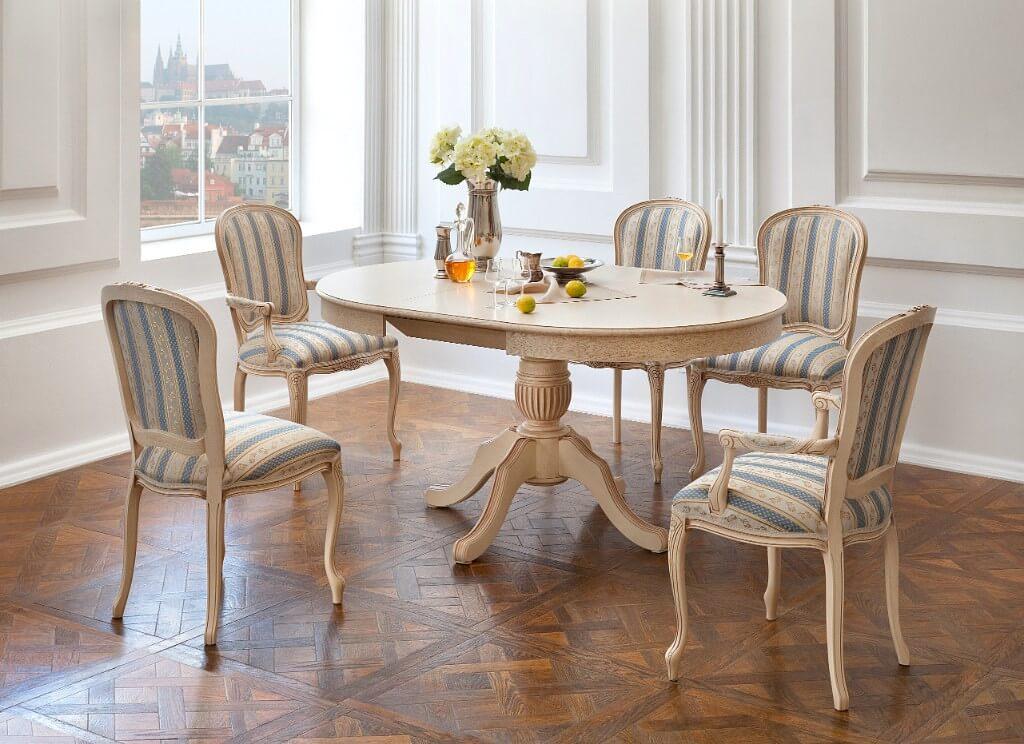 фото мягких обеденных стульев
