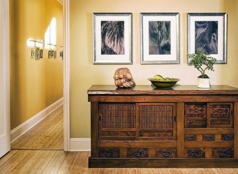 фото деревянного комода