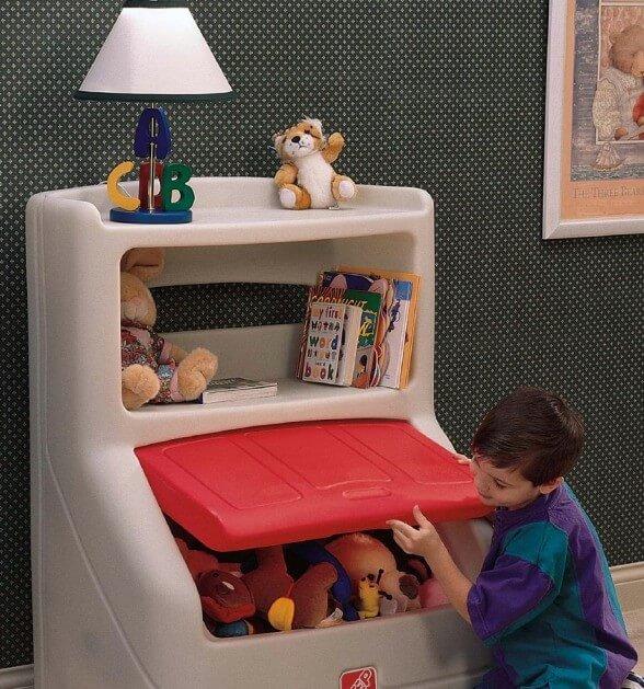 детский пластиковый комод для игрушек