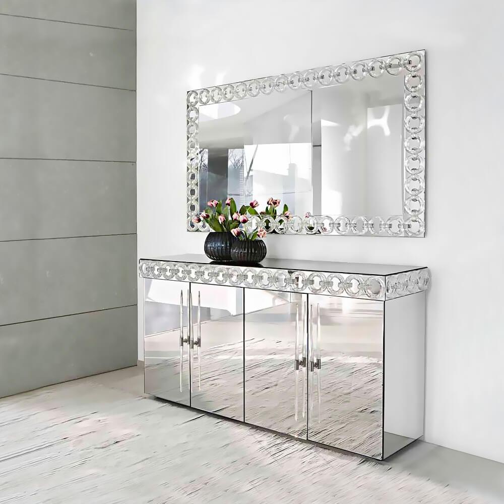 зеркальный комод