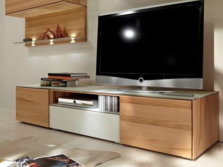 современный комод под ТВ