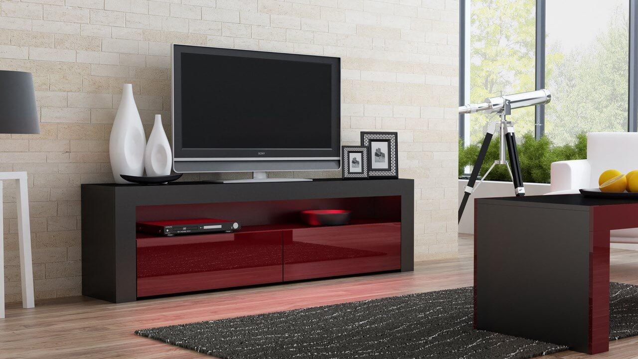 фото современной ТВ тумбы