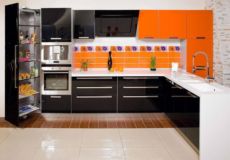 фото акриловой кухни
