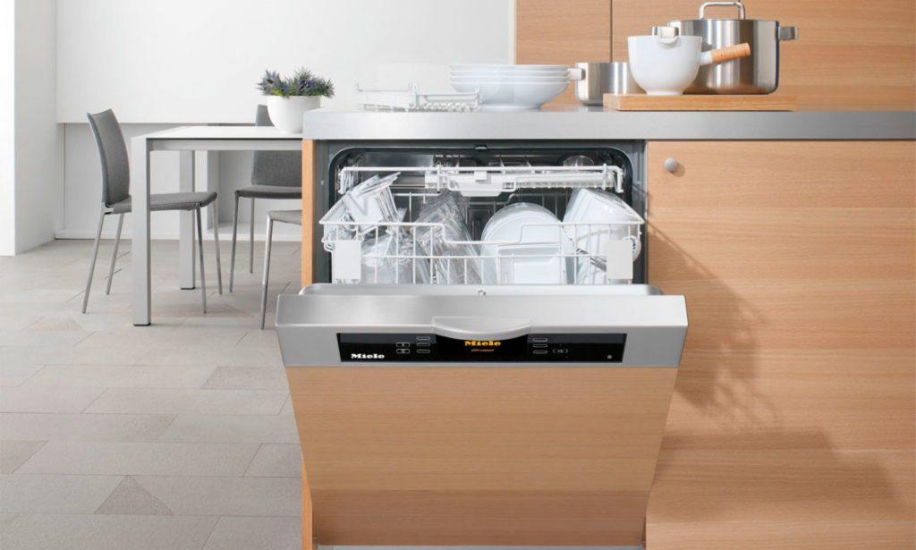 фото посудомоечной машины с мебельным фасадом