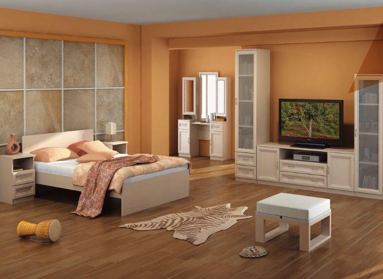 фото модульных шкафов в спальне